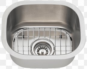 Sink - Kitchen Sink Stainless Steel Kitchen Sink Bathroom PNG