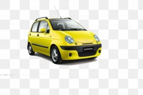 Yellow Car - Used Car General Motors Wheel Price PNG