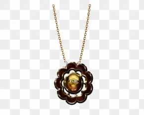 Gothic Necklace Image - Locket Necklace Chain Jewellery PNG