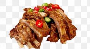Lamb Bacon - Turpan Sheep Ribs Bacon Food PNG