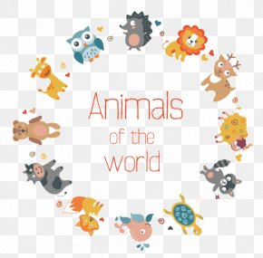 Small Animals Collection - Animal Flat Design PNG