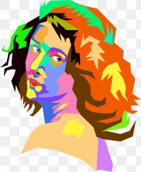 POP ART - Pop Art Female Clip Art PNG