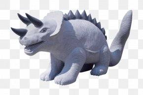 Rhino Statue - Dinosaur Sculpture Tyrannosaurus Statue PNG