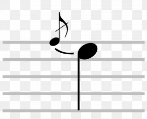 Musical Note - Musical Notation Grace Note Appoggiatura Acciaccatura PNG