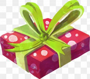 Hand-painted Gift Boxes PNG