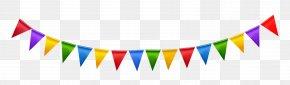 Party Streamer Transparent Clipart - Party Favor Christmas Decoration Clip Art PNG