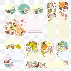 Floral Design Product Pattern Font PNG