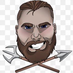Beard - Mouth Cartoon Human Behavior Jaw PNG