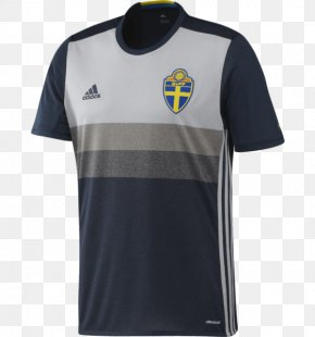 Adidas Brand Core Store Shinjuku - Sweden National Football Team T-shirt 2018 FIFA World Cup Jersey PNG