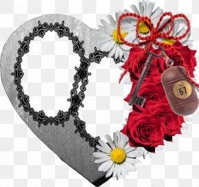 Valentine's Day - Valentine's Day Flower Romance Sticker PNG