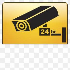 24 Hours Surveillance Webcam Icon - Closed-circuit Television Surveillance Wireless Security Camera Icon PNG