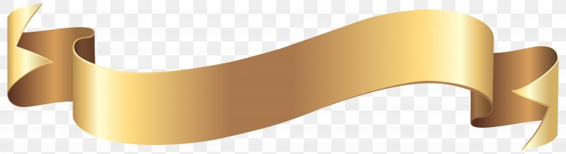 Gold Web Banner Clip Art, PNG, 8000x2176px, Gold, Banner, Brand, Free Content, Ribbon Download Free