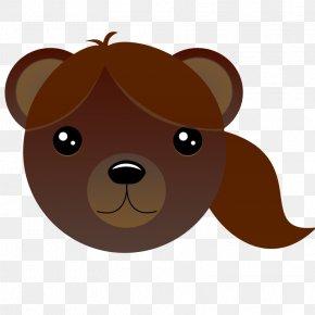 Cartoon Brown Bear - Brown Bear Dog Cartoon Giant Panda PNG