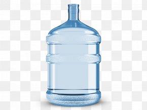 Water Bottle - Fizzy Drinks Carbonated Water Lemonade Bottle PNG