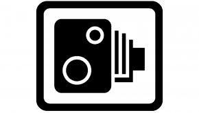 Camera Logo - Traffic Enforcement Camera Speed Limit Traffic Sign Warning Sign PNG