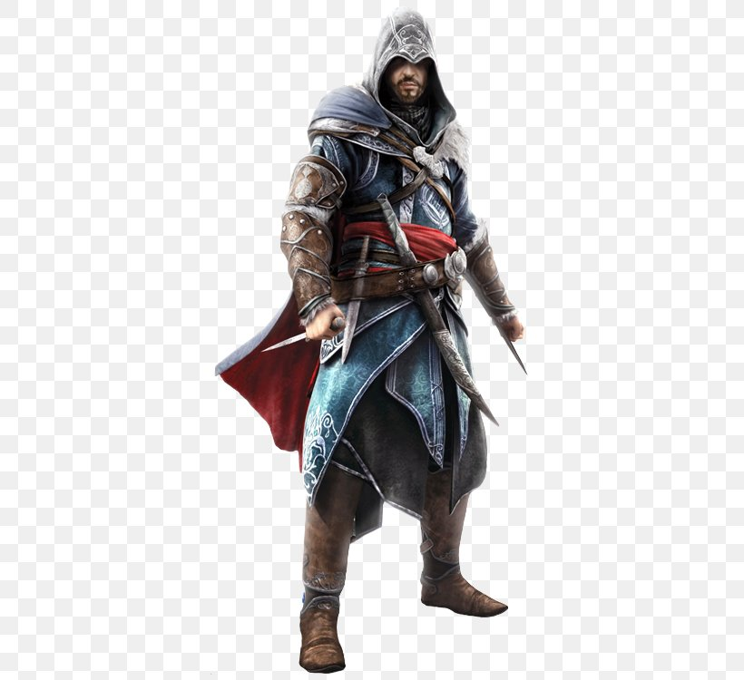Assassin's Creed: Revelations Assassin's Creed: Brotherhood Assassin's Creed III Ezio Auditore, PNG, 500x750px, Ezio Auditore, Action Figure, Assassins, Costume, Costume Design Download Free