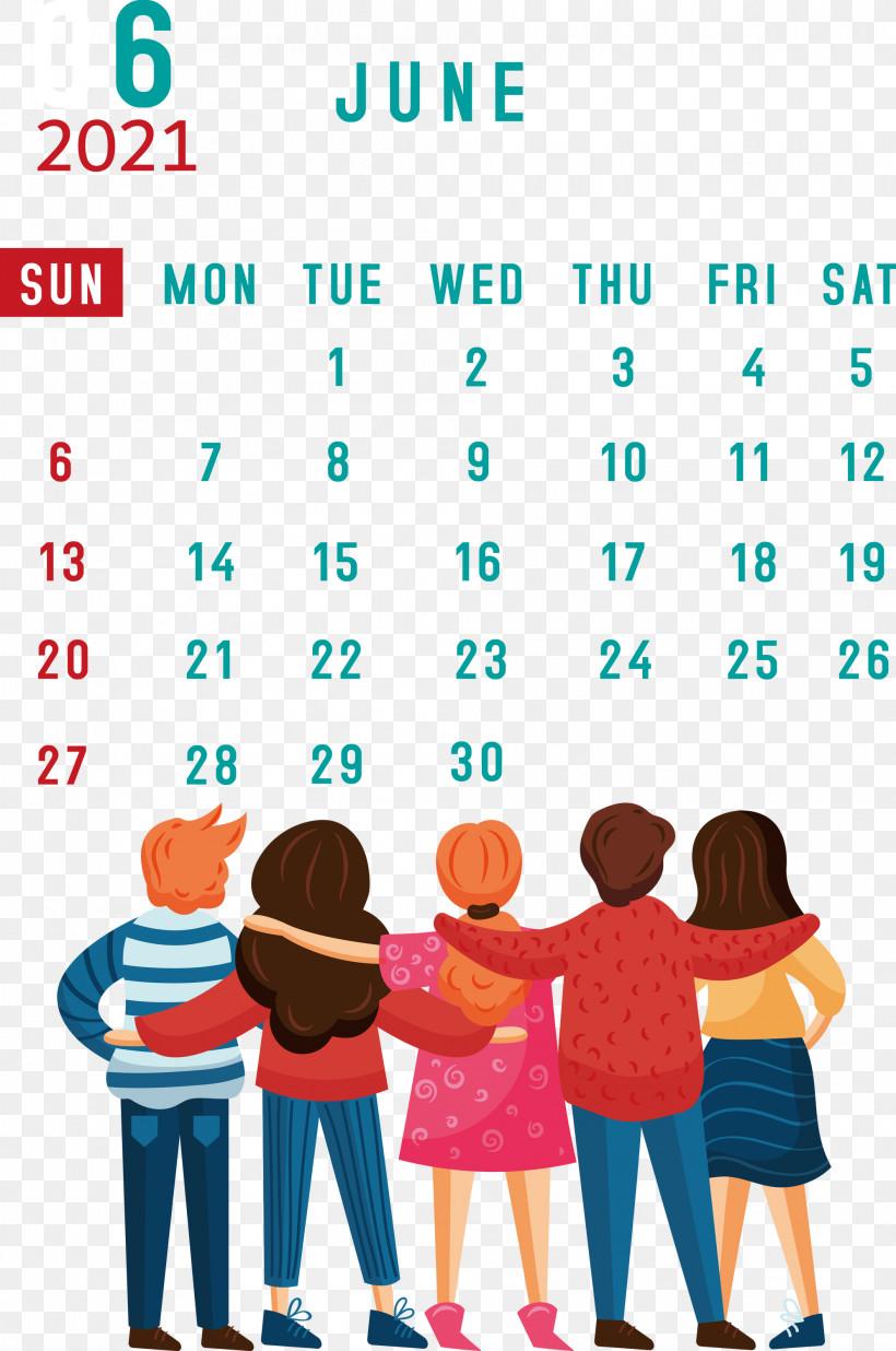 June 2021 Calendar 2021 Calendar June 2021 Printable Calendar, PNG, 1990x3000px, 2021 Calendar, Boyfriend, Day, Friendship, Girlfriend Download Free