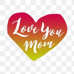 Love Mother Infant Gift PNG