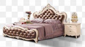 Bed - Shunde District Bedroom Furniture Nightstand Bedroom Furniture PNG