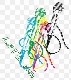 Cartoon Microphone - Microphone Cartoon Sound PNG