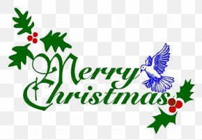 Free Download Of Merry Christmas Icon Clipart - Christmas Black Religion Clip Art PNG
