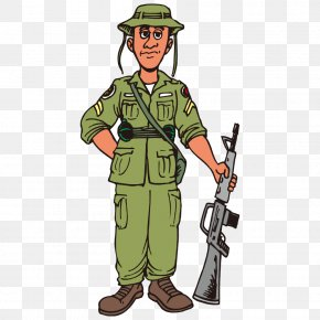Soldier - Soldier Cartoon Army PNG