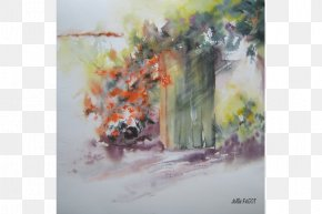 Painting - Watercolor Painting Art Paper Wet-on-wet PNG