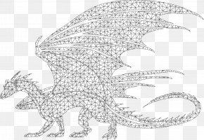 Bearded Dragon Drawing Line Art - Line Art Drawing /m/02csf Illustration Pattern PNG