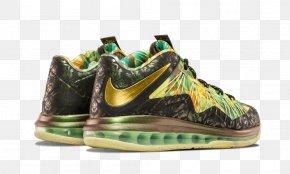 Reptile Shoe Nike Mens Lebron JamesNike - Sneakers Nike LeBron 10 Low PNG