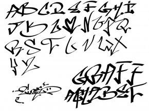 Alfabet Graffiti - Graffiti Letter Alphabet Drawing Wildstyle PNG