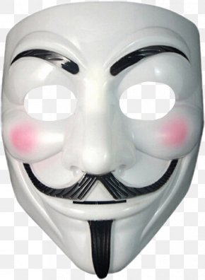 Mask - Gunpowder Plot Guy Fawkes Mask V For Vendetta Costume PNG