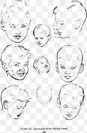 Drawing Made By Hand - Drawing The Head And Hands Figure Drawing For All It's Worth Potrace PNG