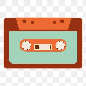 Cassette - Compact Cassette Cartoon Clip Art PNG
