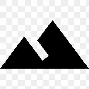Material Design Mountains - Terrain Mountain Range Les Trois Vallées Logo PNG