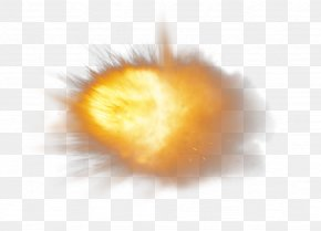 Powder Frictional Explosion Glowing - Dust Explosion Particle Splash PNG