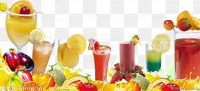 Drink - Orange Juice Tomato Juice Strawberry Juice Drink PNG