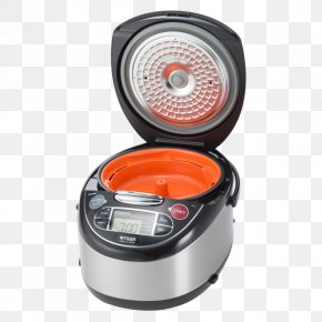 Stainless Steel Rice Cooker - Rice Cookers Multicooker Cookware Cooking PNG