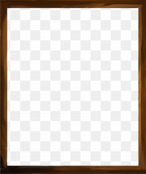 Brown Frame - Square Picture Frame Text Chessboard Wood Stain PNG