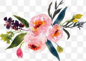 Flower - Watercolour Flowers Watercolor Painting Floral Design Flower Bouquet PNG