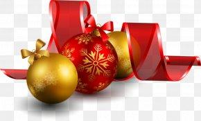 Happy New Year Photos - Christmas Ornament New Year Santa Claus PNG