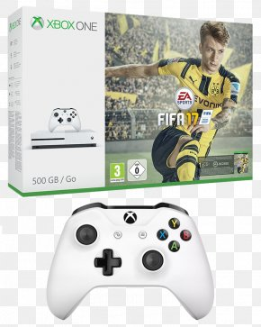 Microsoft - Xbox 360 Xbox One Controller Microsoft Xbox One S FIFA 17 Video Game Consoles PNG