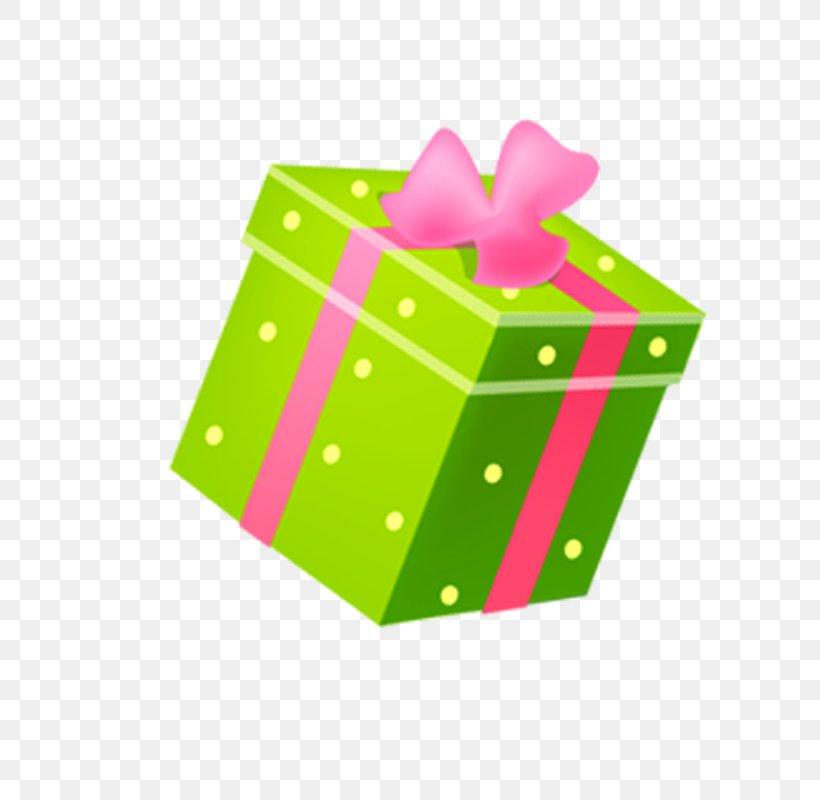 Gift Box, PNG, 800x800px, Gift, Birthday, Box, Gratis, Green Download Free