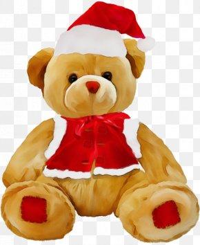 Plush Teddy Bear - Teddy Bear PNG