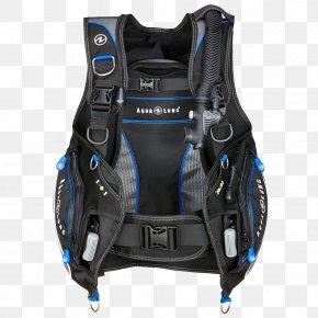 Diver - Buoyancy Compensators Aqua-Lung Scuba Diving Aqua Lung/La Spirotechnique Diving Regulators PNG