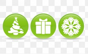 Green Christmas Element Icon - Download Icon PNG