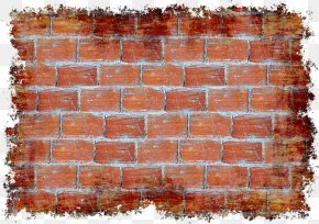 Brick Pattern Label Material - Stone Wall Brick Wall Decal Tile PNG