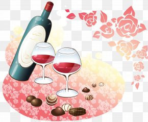 Iftar - Wine Glass Red Wine PNG