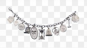 Jewelry - Earring Jewellery Silver Bracelet Necklace PNG