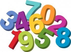 Math Cliparts Borders - Number Website Clip Art PNG