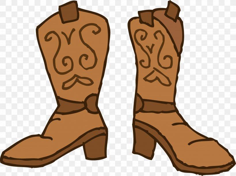 Cowboy Boot Cowboy Hat Clip Art, PNG, 4700x3517px, Cowboy Boot, Boot, Brown, Cowboy, Cowboy Hat Download Free
